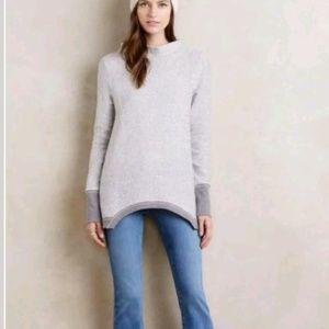 Anthropologie Postmark Inari Pullover Sweater Mock